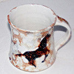 Mug with Cave Painting Horse - EquineGiftBoutique