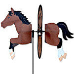 Garden Spinner -  Small Bay Horse - EquineGiftBoutique