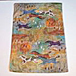 Kitchen Towel with Southwestern Spirit Horses - EquineGiftBoutique