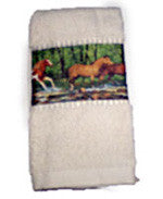 Hand Towels with Spring Creek Run - EquineGiftBoutique