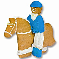 Cookie Cutter for Stand up Horse and Rider - EquineGiftBoutique