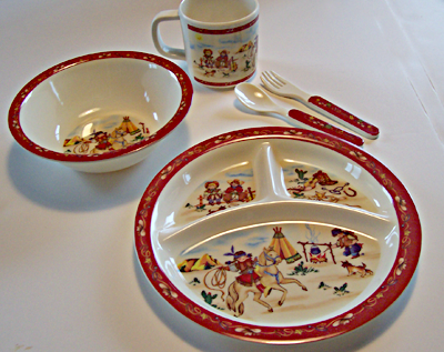 Dishware set for Infants and Toddlers - EquineGiftBoutique