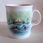 Trigger Mug swimming - EquineGiftBoutique