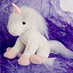 Fit in Your hand Plush Unicorn - EquineGiftBoutique