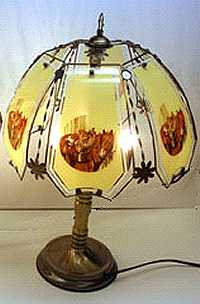 Art Glass Tiffany Style Lamps by Janet Griffinscott