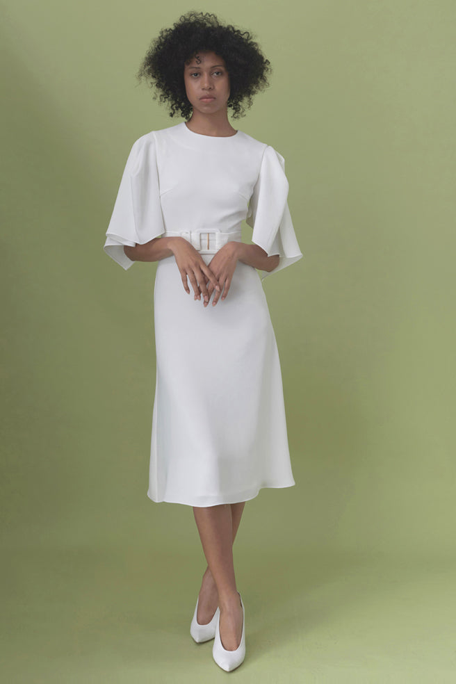 Mabel Dress - Round Neck