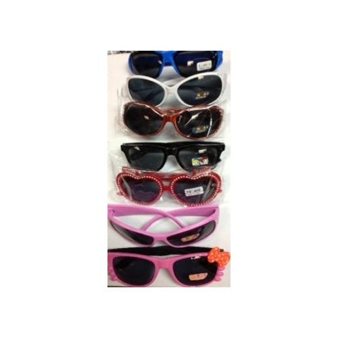 Case of [144] Children's Assorted Sunglasses