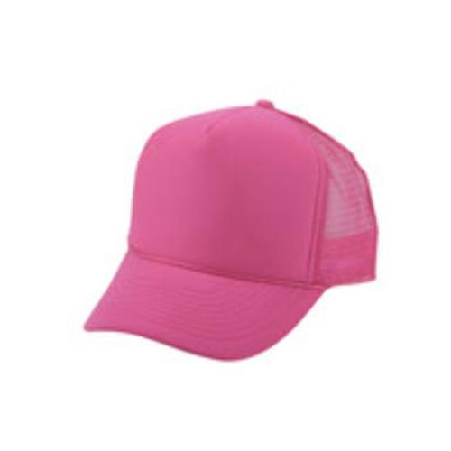 Case of [144] Polyester Summer Mesh Cap - Hot Pink