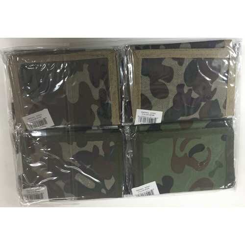 Case of [72] Camouflage Velcro Wallet