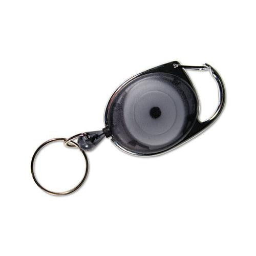 Carabiner-Style Retractable ID Card Reel 30""