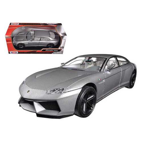 Lamborghini Estoque Grey 1/24 Diecast Model Car by Motormax