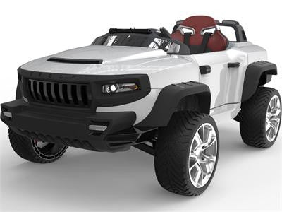 Broon T870 4x4 Ride-On Car 24v with Tablet (RC) White