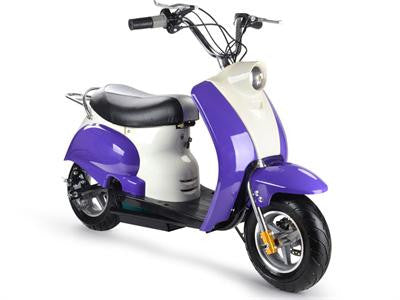Electric Moped Purple 24v