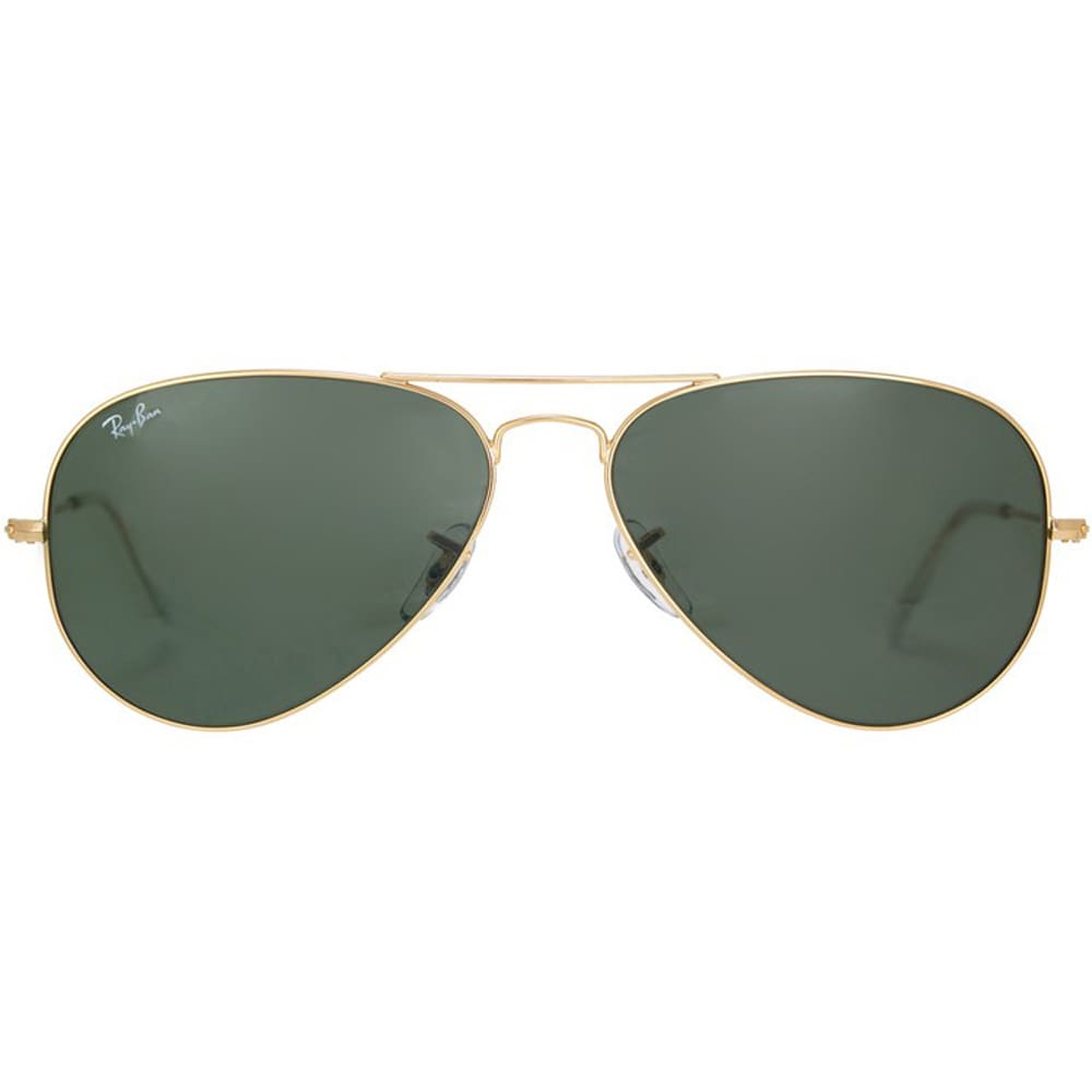 Ray Ban Aviator RB3025 Unisex Gold Frame Green Classic Lens Sunglasses