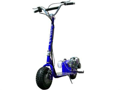 Dirt Dog 49cc Scooter Blue