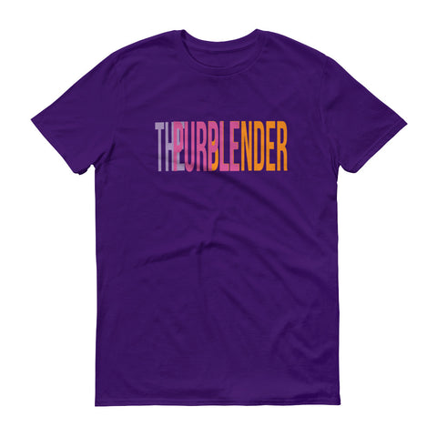 THE PURPLE BLENDER Short-Sleeve T-Shirt