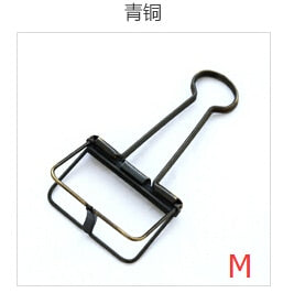 Colorful Metal Binder Clips Notes Letter Paper Clip Office Supplies
