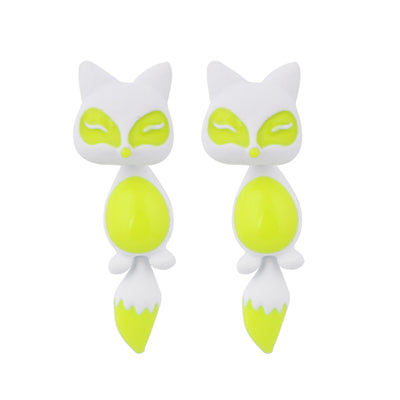 3D Animal Cute Fox Stud Earrings