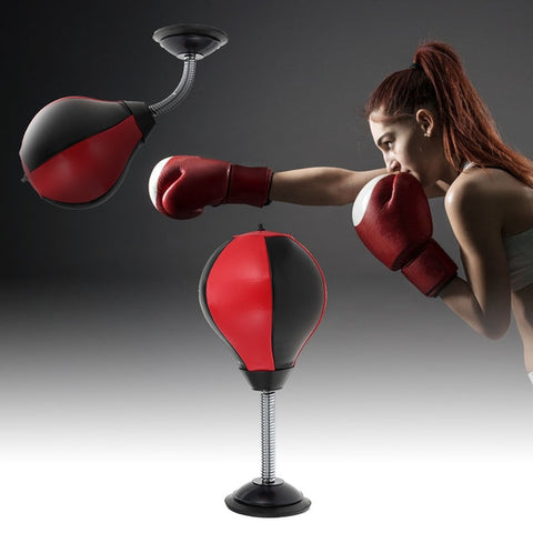 Desktop Punching Bag Stand  Adult Toy Stress Relief Ball