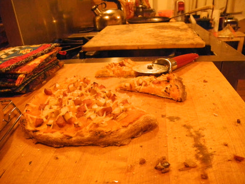 Pizza with Maple-Squash Puree