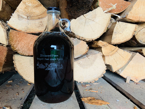 Pickup -- Half-Gallon Glass Growler Organic Maple Syrup