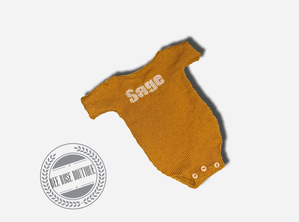 Solid Custom Onesie | Short Sleeves