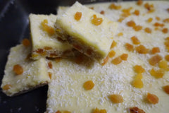 Apricot, Lemon & Coconut Slice