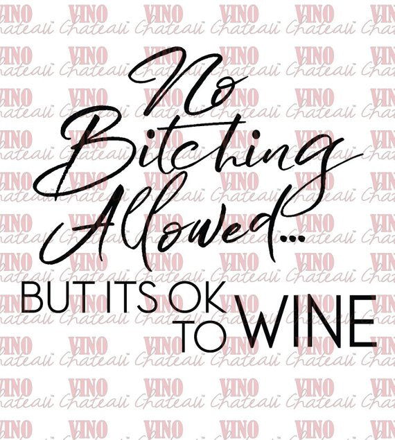 It's OK to Wine Vino Chateau