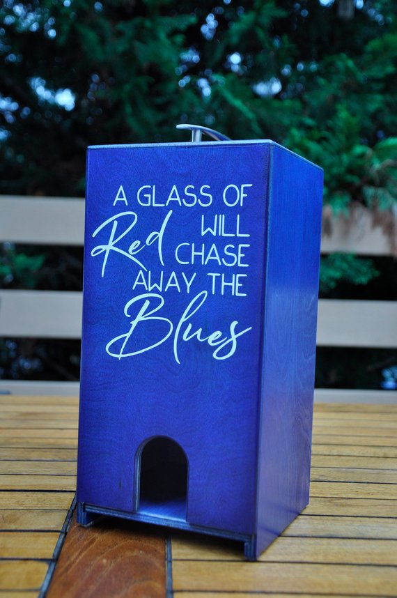 Chase Away the Blues Vino Chateau