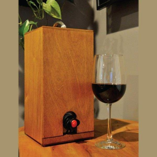 Vino Chateau Boxed Wine Cover for Black Box, Bota Box or any 3 Liter Boxed Wine.