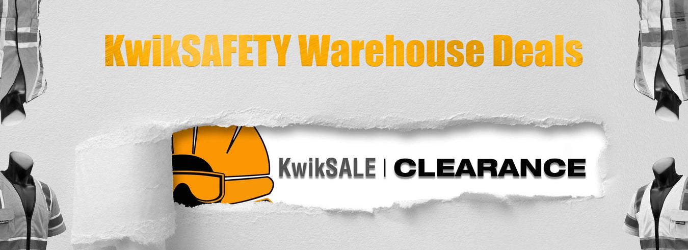Warehouse Deals on Industry Standard Safety Gear