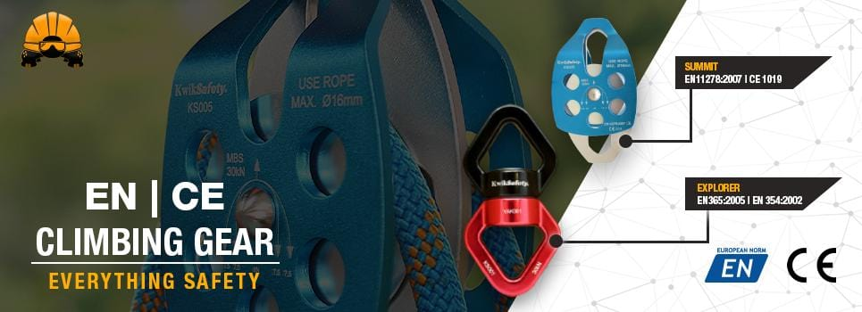 EN & CE Industry Tested & Certified Safety Climbing Gear