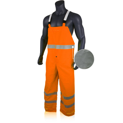 KwikSafety High Visibility Weather Proof Rain Bib by KwikSafety - KwikSafety