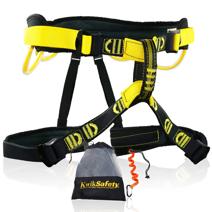 KwikSafety MANDRILL Climbing Harness Outdoor Gear - Model No.: KS6608 - KwikSafety