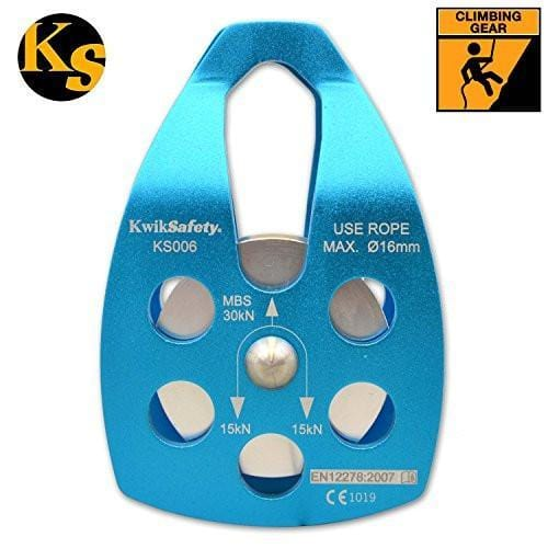 Kwiksafety Single Sheave Pulley 30Kn - 25 Pieces