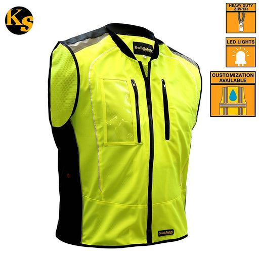 ZOOM | LED Motorcycle & Cycling Vest - KwikSafety