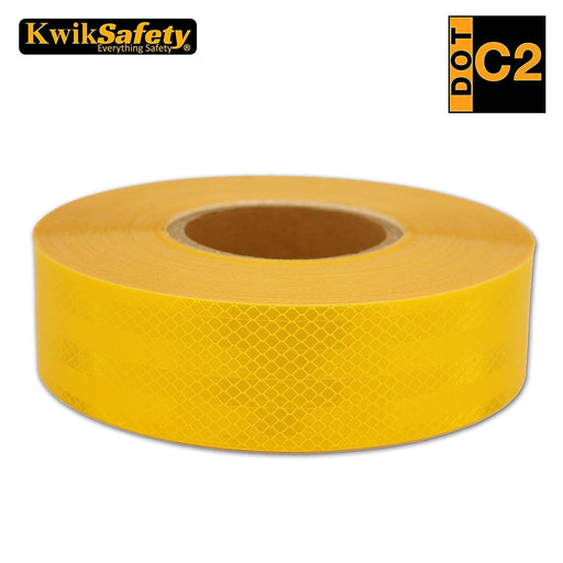 "KwikSafety 2"" x 150 ft Conspicuity Standard Pattern Reflective Tape - KwikSafety"
