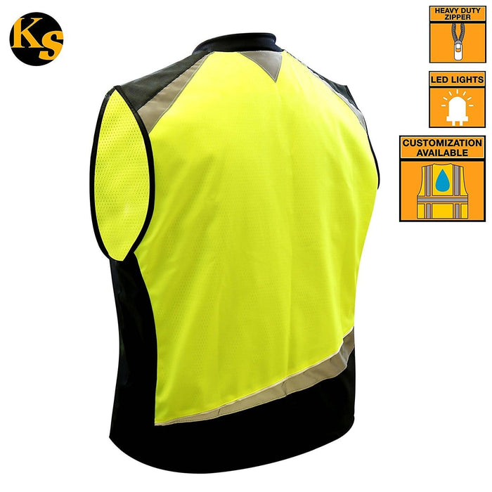 Zoom | Led Motorcycle & Cycling Vest Sports