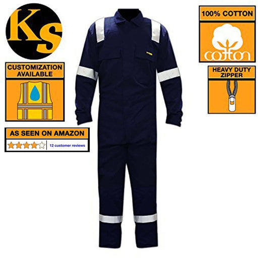 KwikSafety Class 3 Reflective Multi-purpose Construction Coveralls - KwikSafety