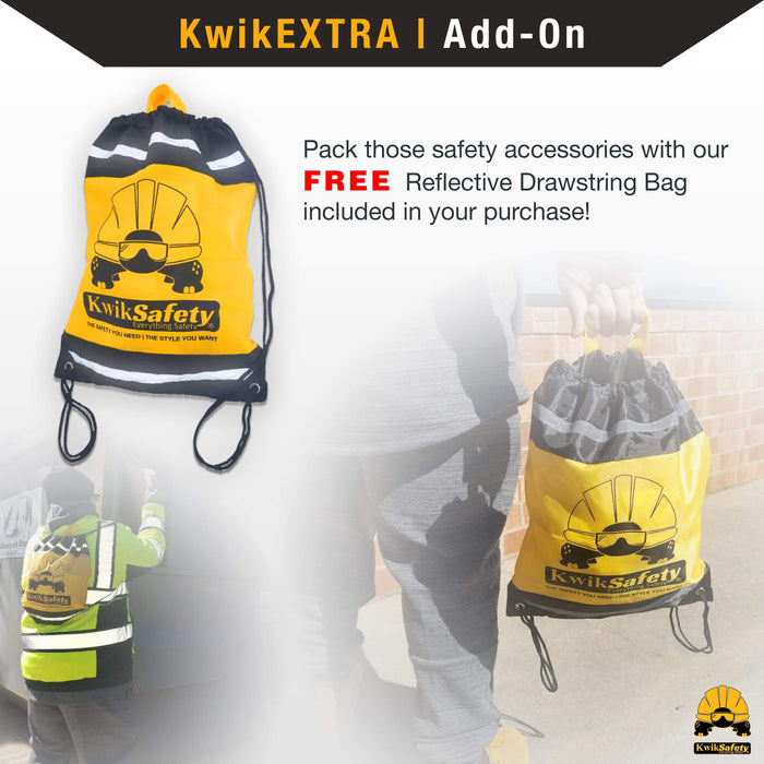 KwikSafety PYTHON 6' ANSI 2 Leg Fall Protection Safety Lanyard w/ Shock Absorber - Model No.: KS7702 - KwikSafety