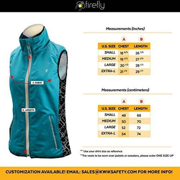 Firefly | All Year Racing Sport Vest Small / Blue Sports