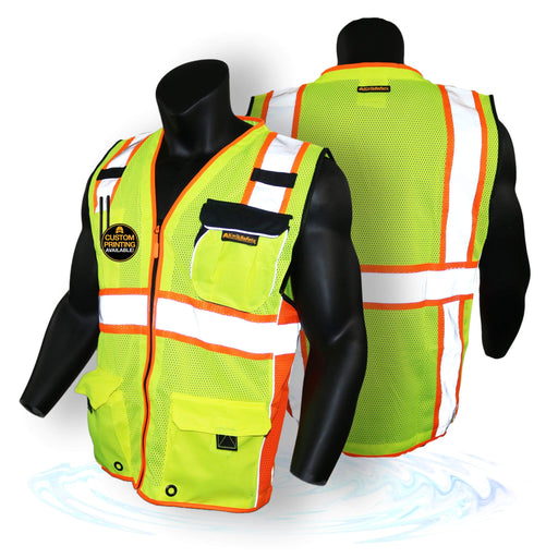CLEARANCE! KwikSafety SUPREME | ANSI Class 2 Safety Vest - Model No.: KS3317 - KwikSafety