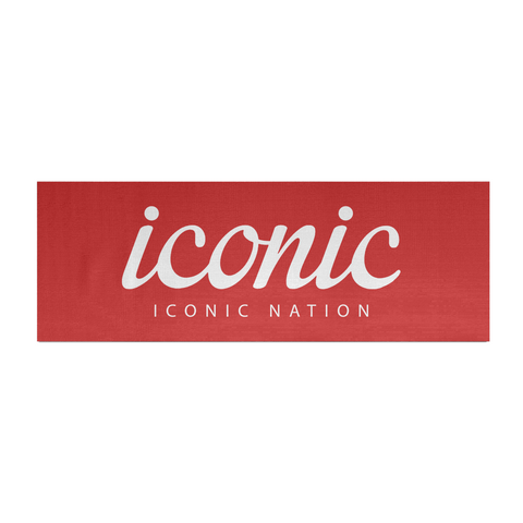 Iconic Nation Logo Yoga Mat