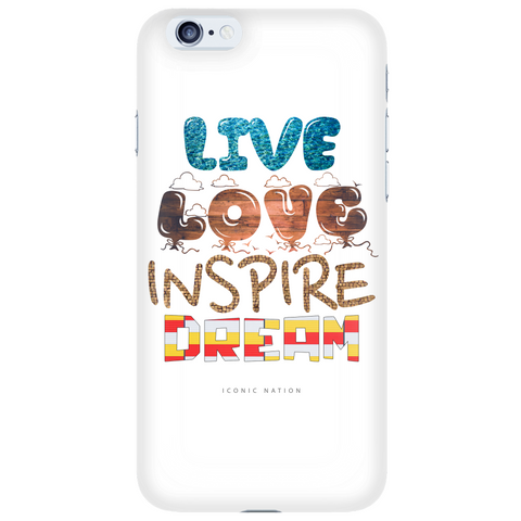 Live. Love. Inspire. Dream. ® Elements Light Case