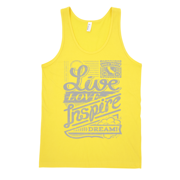 Live Love Inspire Dream® Classic Tank Top (Unisex)