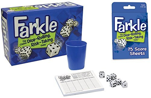 Farkle Dice Game and Farkle Score Sheets Bundle