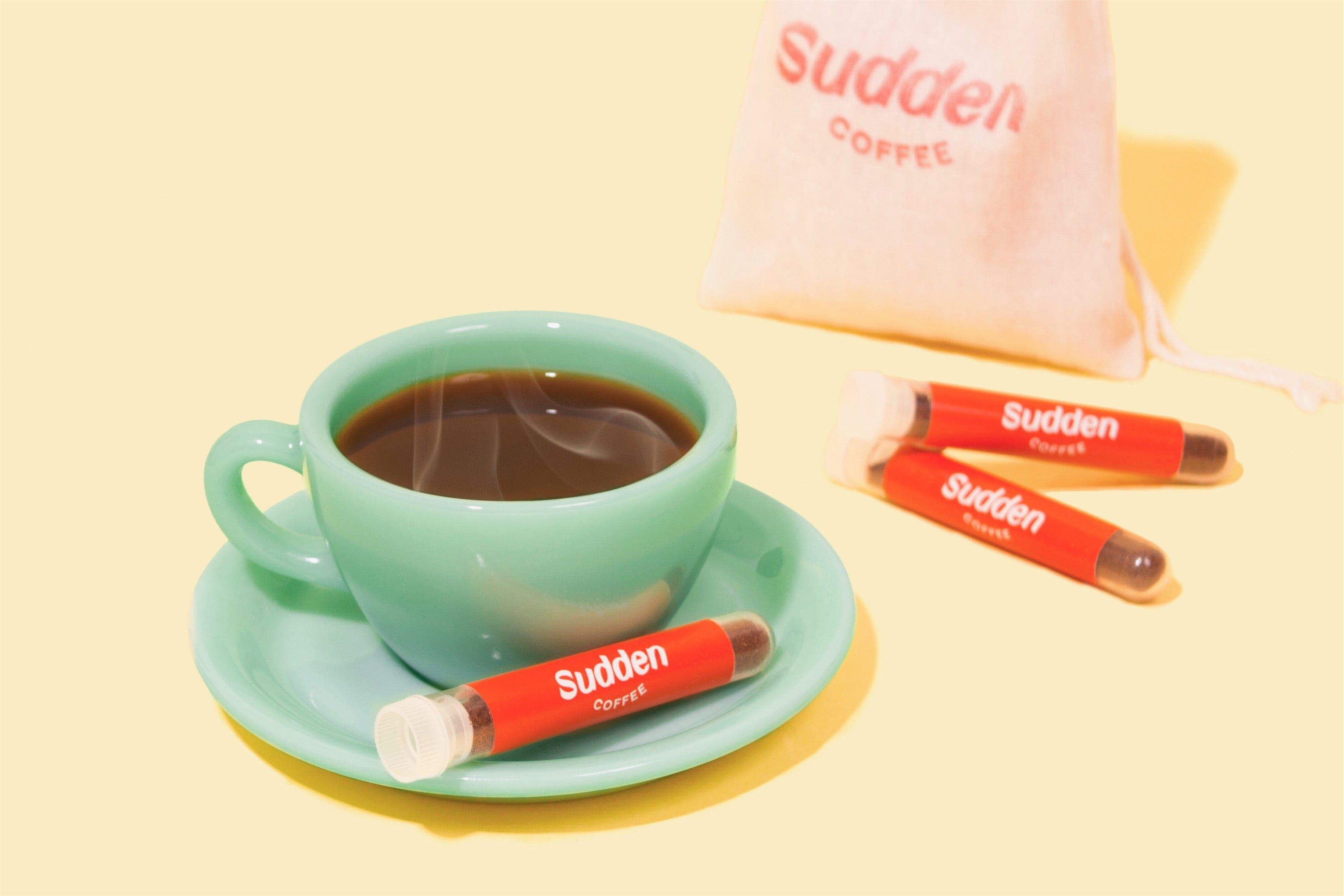REVIEW: Sudden Coffee Unpackag...