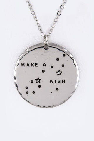 16 inch Make a Wish Necklace - Sophie's Boutique