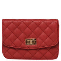 Quilted Flap Crossbody - Sophie's Boutique