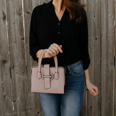 Audrey Satchel with Strap - Sophie's Boutique